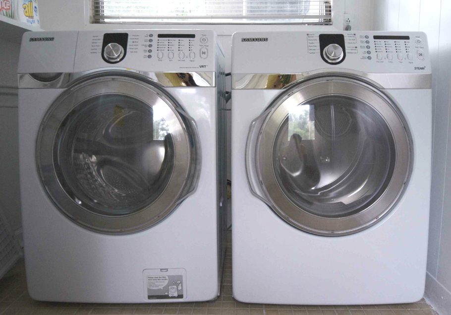 Moving a Washer Dryer